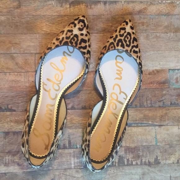 bb32f03f0d2ab Sam Edelman Leopard Rodney Dress Flat. M 5afb45e300450fbf25b4c22a